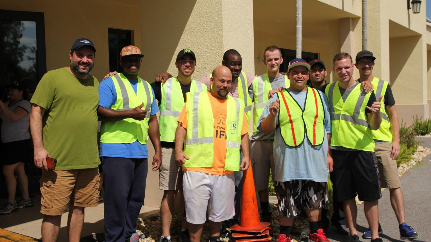 River Church Hurricane Relief Team In Naples FL