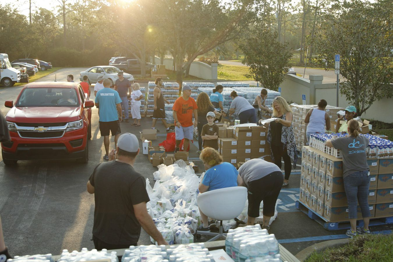 River Church Hurricane Relief Team In Naples FL Week 2 Day 2