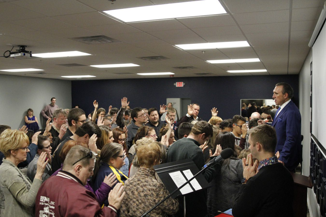 One Night Holy Ghost Revival: City 4, Dickinson, ND