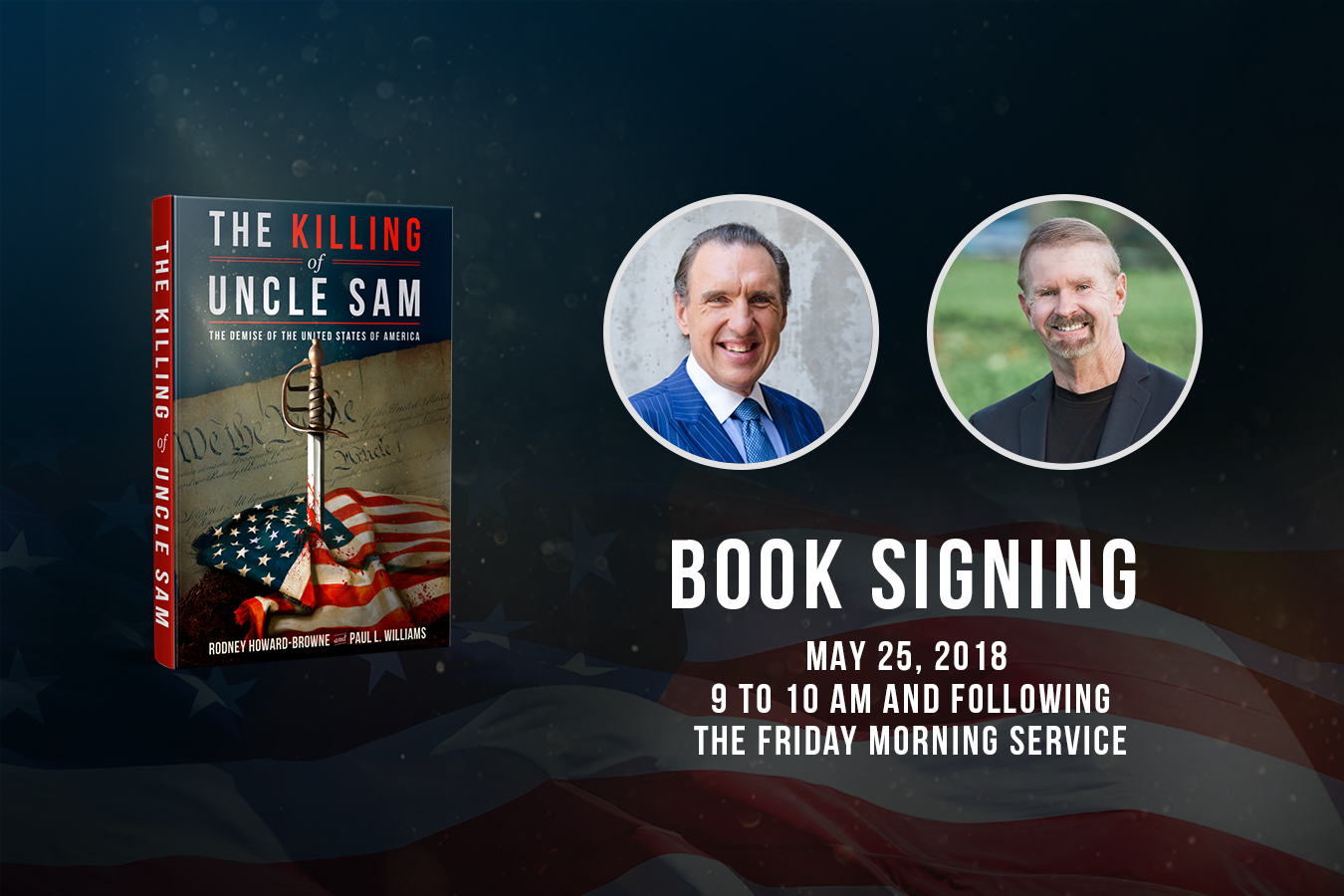 Killing Uncle Sam Book Signing