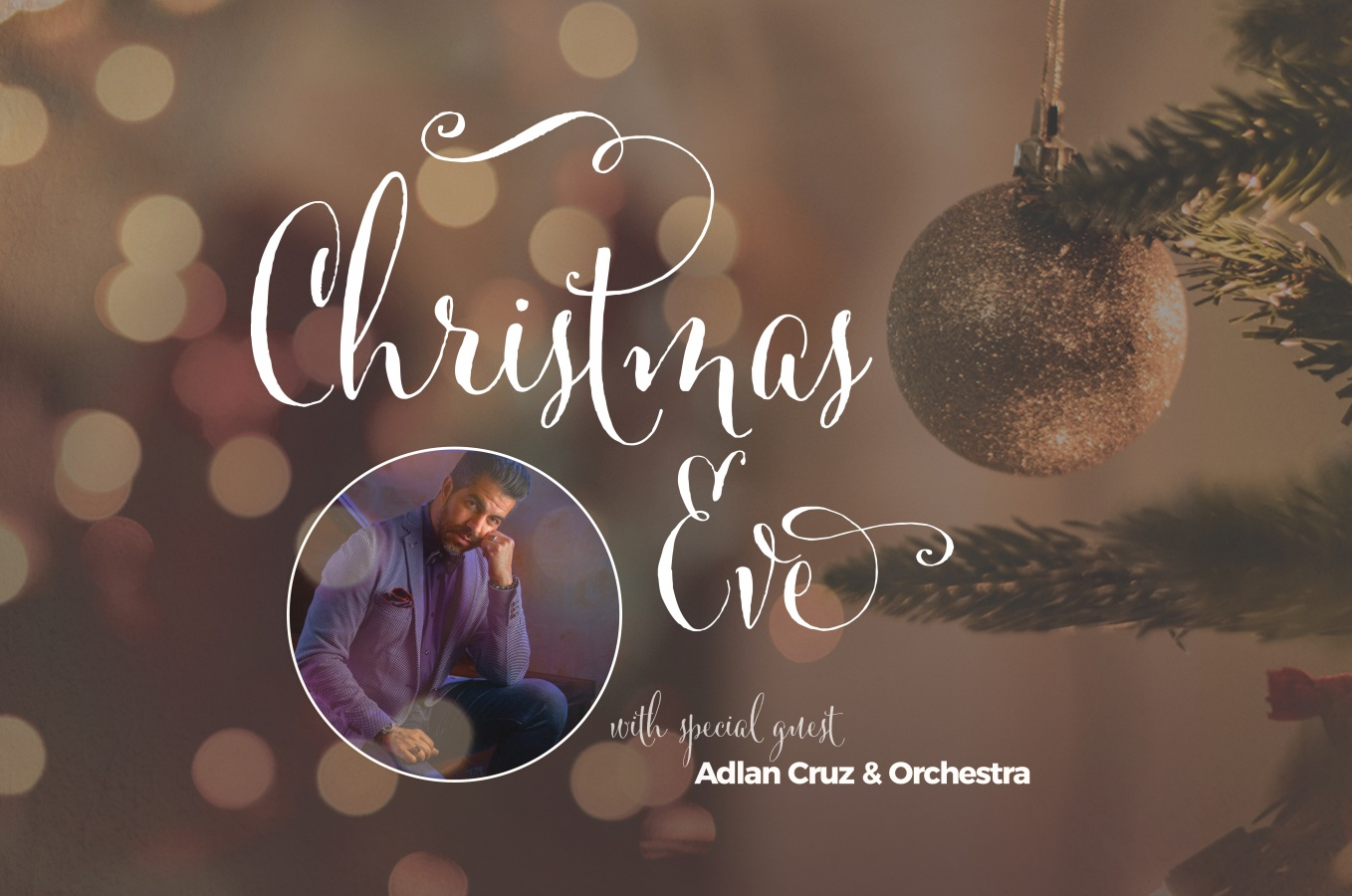 Christmas Eve at The River with Special Guest Adlan Cruz & Orchestra