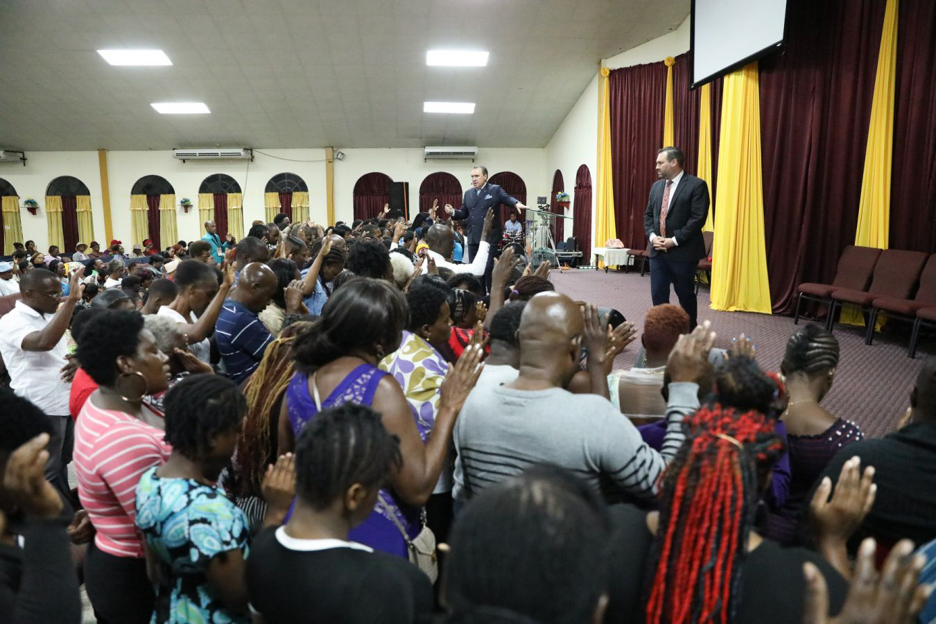 Caribbean Ablaze Update: Lives Are Being Changed by the Fire of God!
